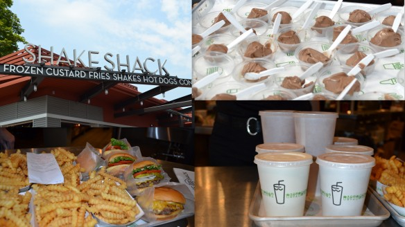 Shake Shack collage
