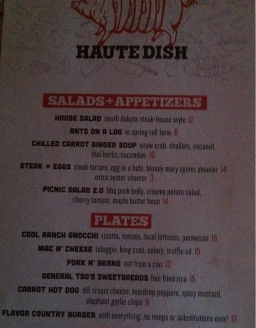 bl menu