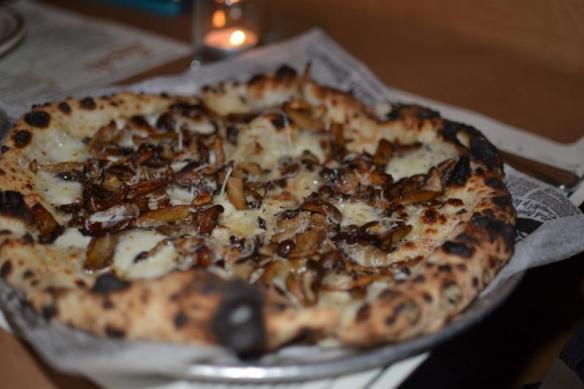 BL Mushroom Pizza