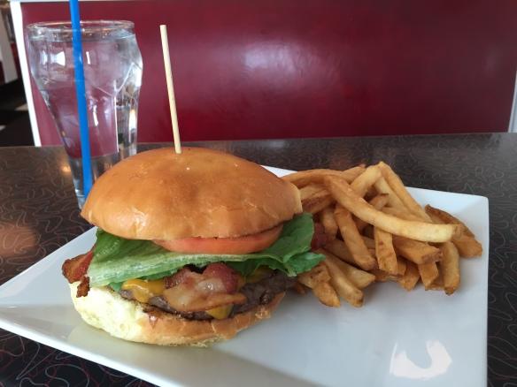 Has deep burger checker chubby hot