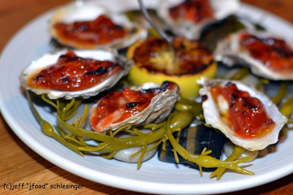Uncorked oysters
