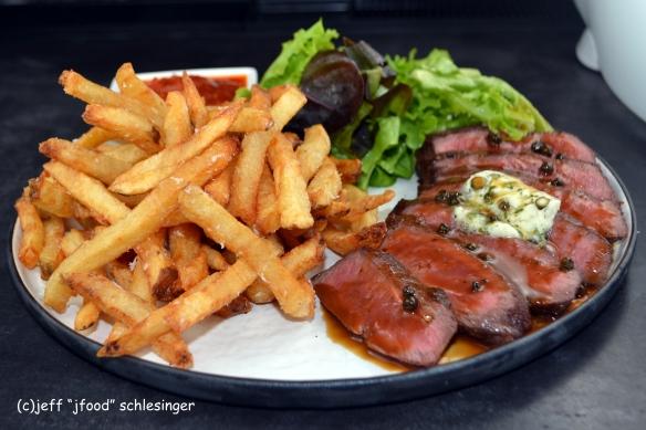 Uncorked steak