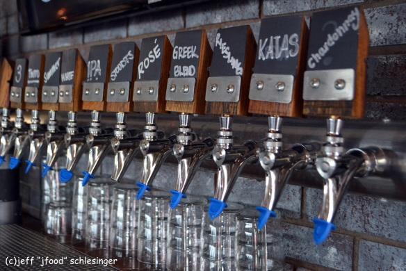 Uncorked taps